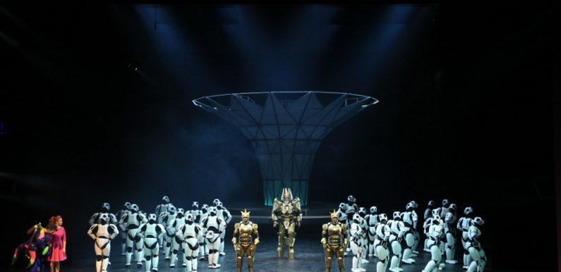 Опера «Волшебная флейта» Моцарта в театре «Геликон-Опера»
