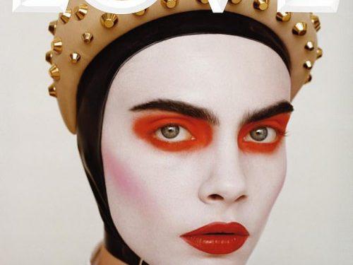 Кара Делевинь на обложке Love и разговоры о красоте